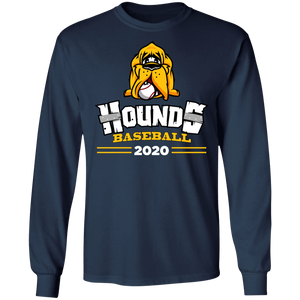 Hounds Baseball 2020 Cooperstown Special Adult  LS Tee
