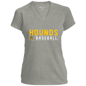 Hounds Bar Logo Ladies' Performance T-Shirt