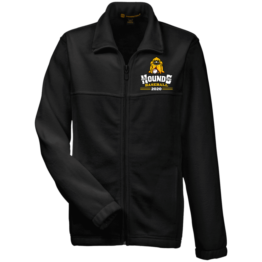 Hounds Baseball 2020 Youth Fleece Full Zip