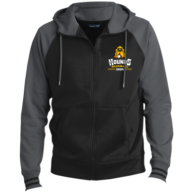 Hounds Baseball 2020 Men's Sport-Wick® Full-Zip Hooded Jacket