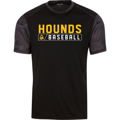 Hounds Bar Logo CamoHex Colorblock T-Shirt