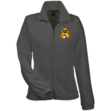 Load image into Gallery viewer, Hound Head Embroirdered Women's Fleece Jacket