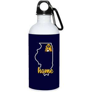 Hounds Illinois Home Water Bottle