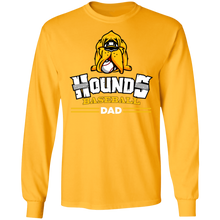 Load image into Gallery viewer, Hounds Dad Adult LS Ultra Cotton T-Shirt