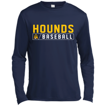 Load image into Gallery viewer, Hounds Bar Logo LS Moisture Absorbing T-Shirt