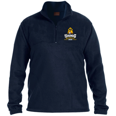 Hounds Baseball 2020 1/4 Zip Fleece Pullover