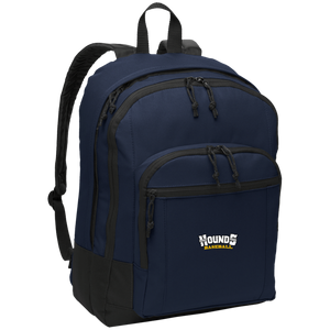 Navy Hounds Baseball Basic Backpack