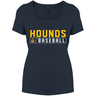 Hounds Bar Logo Women's Perfect Scoop Neck Tee