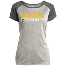 Load image into Gallery viewer, Hound Bar Logo Ladies Heather on Heather Performance T-Shirt