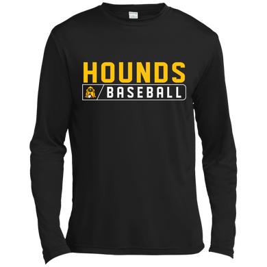 Hounds Bar Logo LS Moisture Absorbing T-Shirt