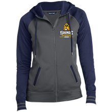 Load image into Gallery viewer, Hounds Baseball 2020  Ladies' Sport-Wick® Full-Zip Hooded Jacket