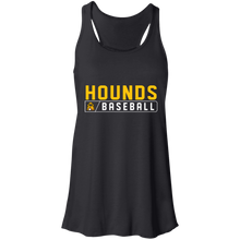 Load image into Gallery viewer, Hounds Bar Logo Flowy Racerback Tank