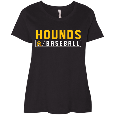 Hounds Bar Logo Ladies' Curvy T-Shirt
