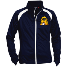 Load image into Gallery viewer, Hound Head Embroirdered Ladies' Raglan Sleeve Warmup Jacket