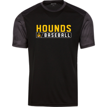 Load image into Gallery viewer, Hounds Bar Logo Youth CamoHex Colorblock T-Shirt