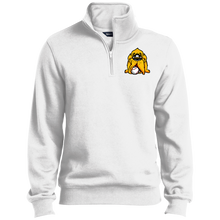 Load image into Gallery viewer, Men's Hound Head Logo 1/4 Zip Sweatshirt