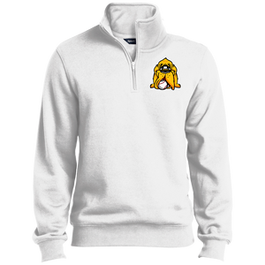 Men's Hound Head Logo 1/4 Zip Sweatshirt