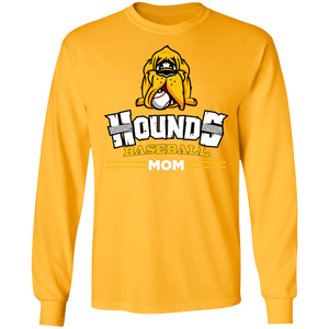 Hounds Mom LS Ultra Cotton T-Shirt