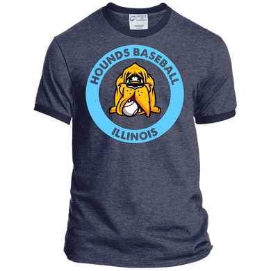 Hounds Baseball Illinois Ringer Tee