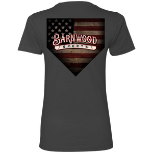 Barnwood Home  Ladies' Boyfriend T-Shirt - Coop Collection