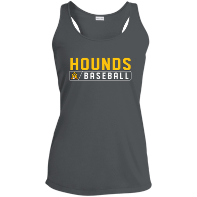 Hounds Bar Logo Ladies' Racerback Moisture Wicking Tank