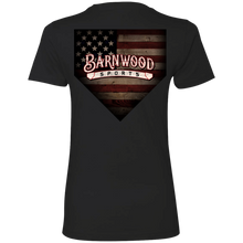 Load image into Gallery viewer, BArnwood Hounds Ladies' Boyfriend T-Shirt