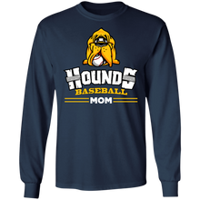 Load image into Gallery viewer, Hounds Mom LS Ultra Cotton T-Shirt