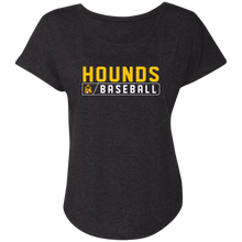 Load image into Gallery viewer, Hounds Bar Logo Ladies' Triblend Dolman Sleeve
