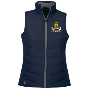 Hounds Baseball 2020  Ladies' Quilted Vest