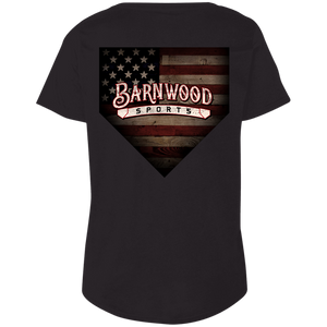 Barnwood Hounds Ladies' Curvy T-Shirt