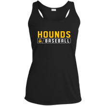 Load image into Gallery viewer, Hounds Bar Logo Ladies' Racerback Moisture Wicking Tank