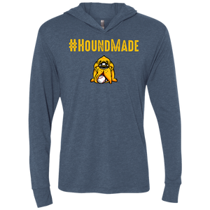 Houndmade Triblend LS Hooded T-Shirt