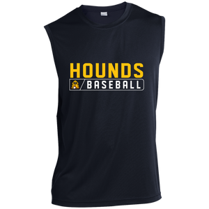Hounds Bar Logo Men's  Sleeveless Performance T-Shirt