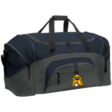 Load image into Gallery viewer, Hound Head Colorblock Sport Duffel