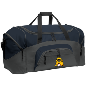 Hound Head Colorblock Sport Duffel