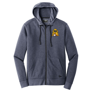 New Era Hounds Men's Zip Up Heathered Hoodie