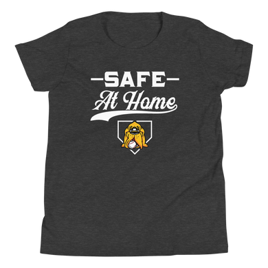 Safe At Home Youth Short Sleeve T-Shirt
