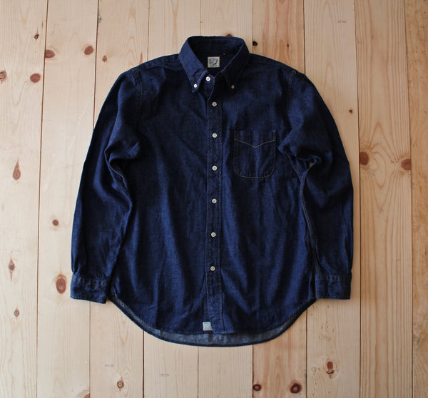 OrSlow Button Down Shirt in One Wash