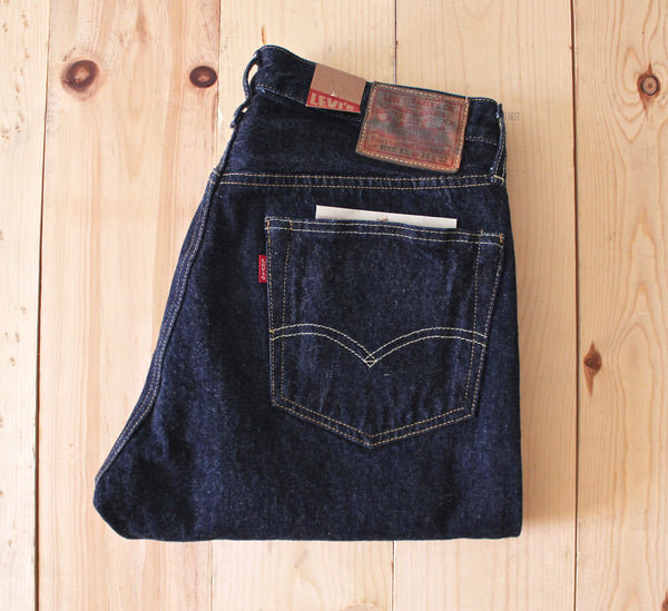 Levi's Vintage Clothing 1954 501Z XX Jean in New Rinse