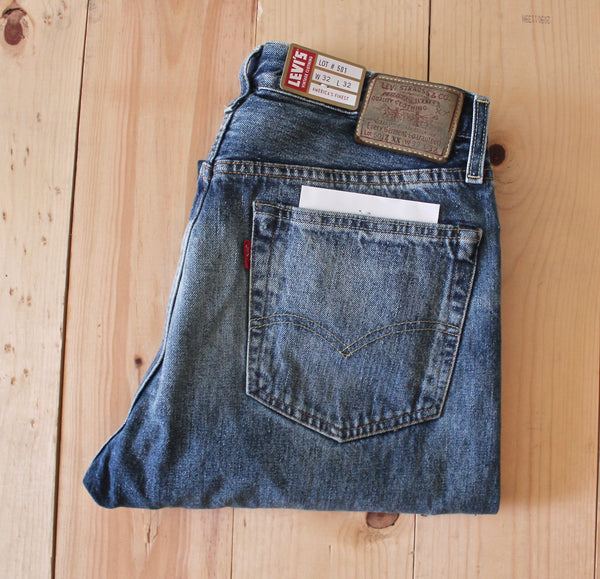 Levi's Vintage Clothing 1954 501Z XX Jean in Rancher