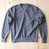 Save Khaki United French Terry Sweatshirt in Metal