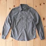Save Khaki United Poplin Workshirt in Spruce