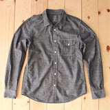 Save Khaki United Chambray Workshirt in Black