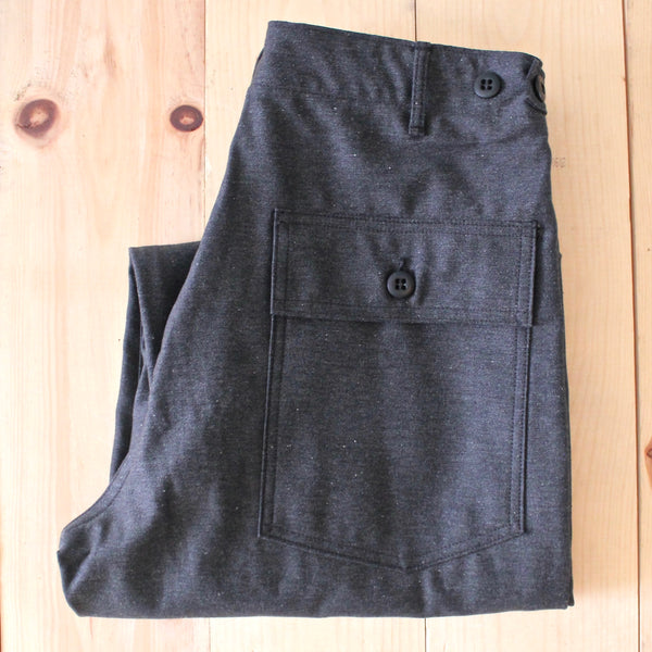 OrSlow US Army Fatigue Pant in Charcoal Grey
