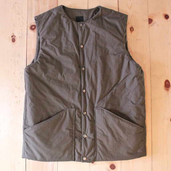 OrSlow Shell Vest in Griege