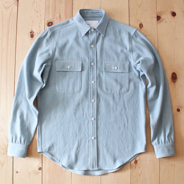 Adsum Denim Workshirt in Light Blue