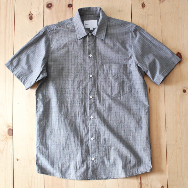 Adsum SS Shirt in Grey Check