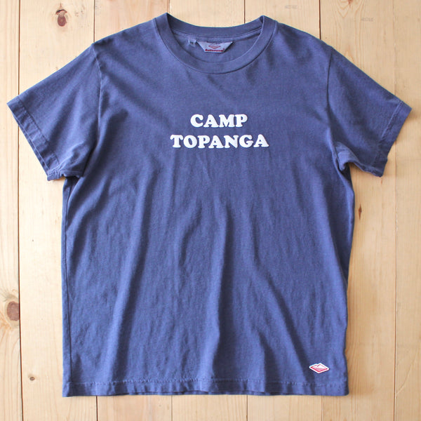 Battenwear Camp Topanga Tee in Navy