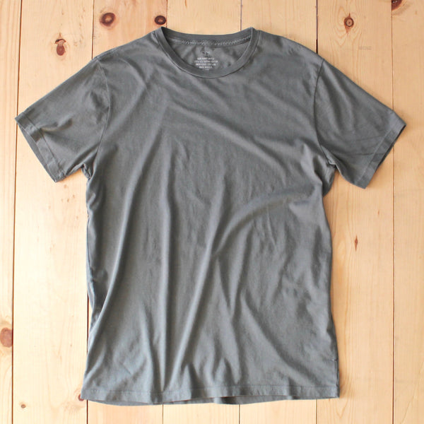 Save Khaki United SS Supima Crew Tee in Leaf