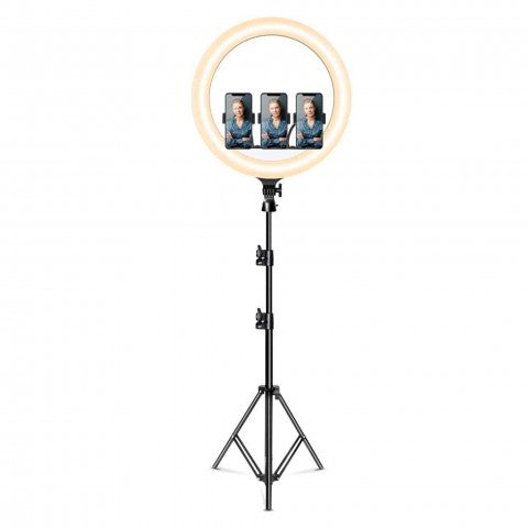 "Snapsy Ring Light -kuvausvalo 18"" (210 cm)"